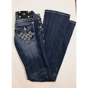 Miss me Boot Cut  Embellished Bling Jeans
